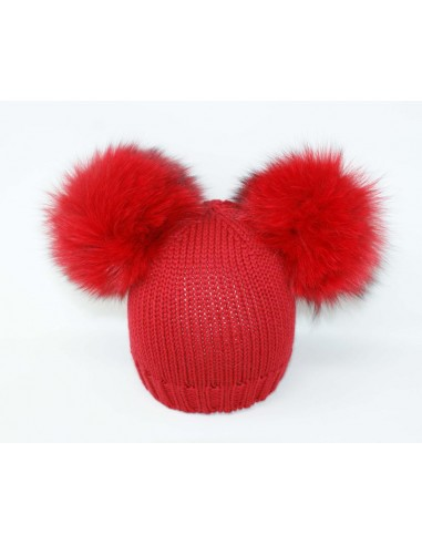 copy of Hat realized in 100% merino...
