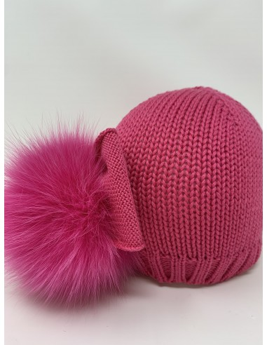 copy of Hat in merino wool realized...
