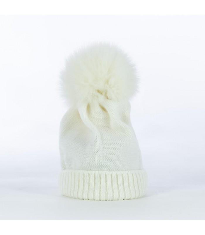 Berretto in 100% lana merino con...