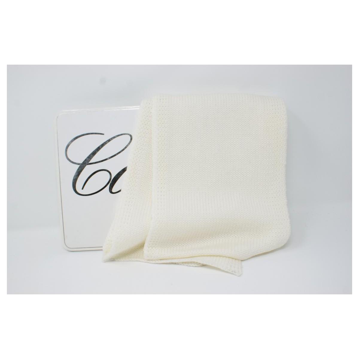 In Sciarpa Bianco Lana Italy Merino Made Colore Lana Rasata wwq7CZ cb16d773e290