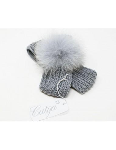 Hairband made in 100% merino wool...