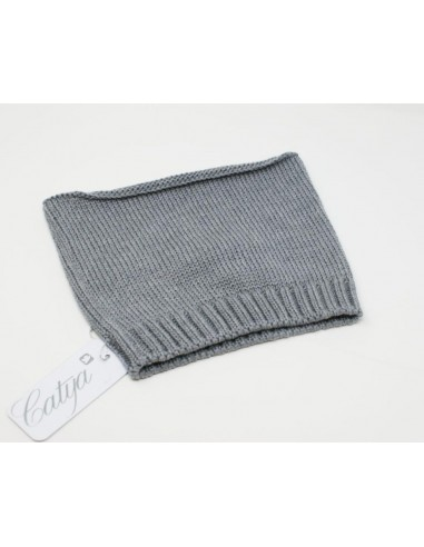 Neckband for baby in 100% merino wool...