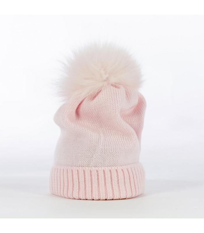 Berretto neonato in 100% lana merino...